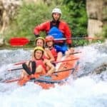 Extreme rafting on Cetina