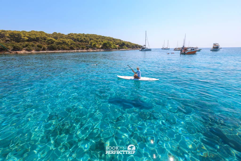 Budikovac island is the part of the 5 islands tour