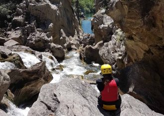 Extreme Canyoning on Cetina River
