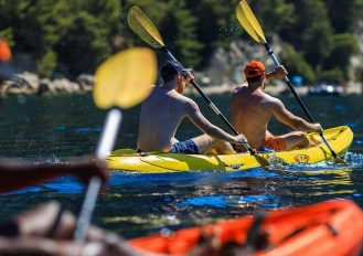 Sea kayak half day tour in Split