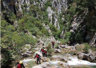 Half-day tour Canyoning in Croatia
