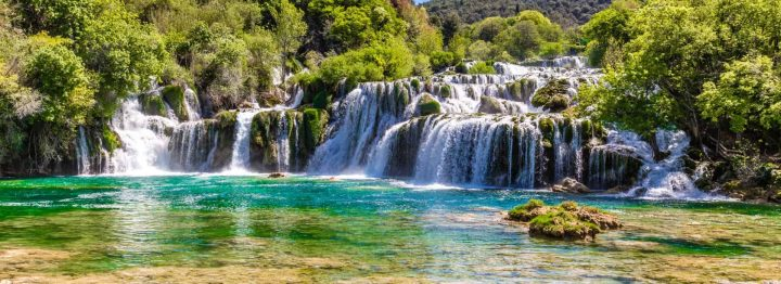 Skradinski Buk waterfall in the NP Krka