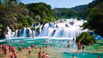 Fulfill your day with a day trip to Krka and Sibenik town