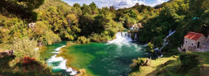 NP Krka Waterfalls old mill