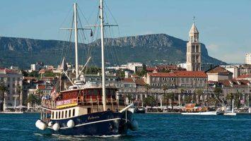 Split's sunset panoramic cruise