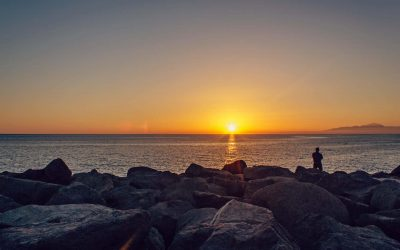 Canva - Scenic View of Sea during Sunset