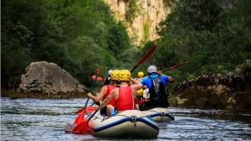Croatia rafting adventure