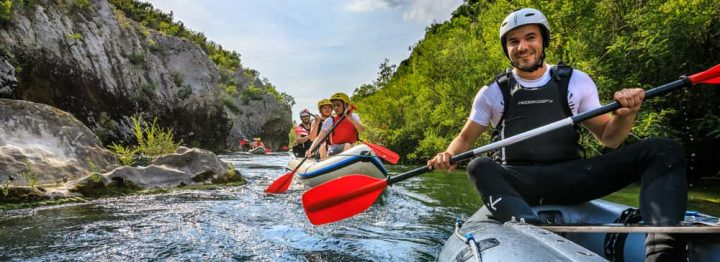Rafting in Croatia