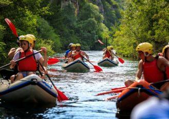 Cetina rafting Croatia