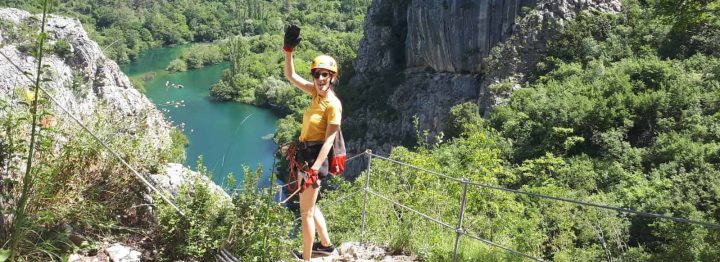Zip Line in Omis