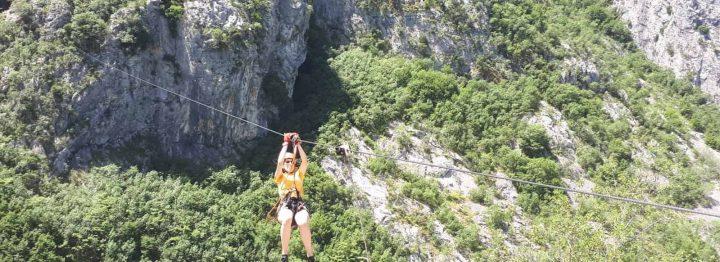 Croatia's longest zipline