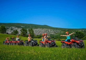 Quad bike tour Split