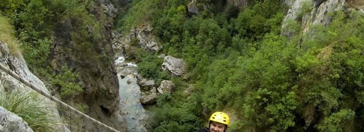 Extreme canyoning half day tour on Cetina river