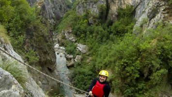 Cetina canyoning in Croatia
