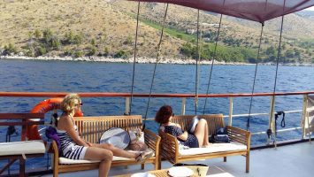 One day tour to Golden Horn on Brac island with a boat