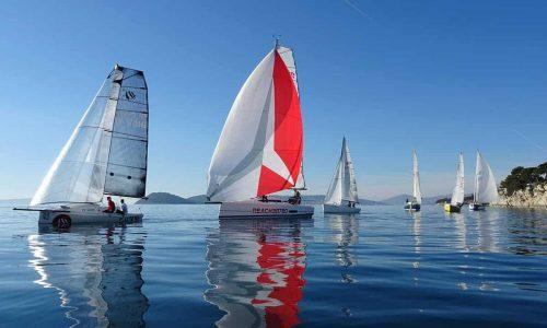 25th Christmas regatta in Croatia