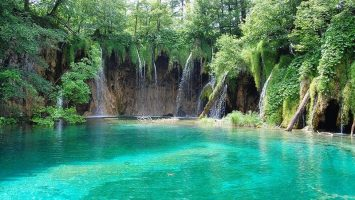 Untouched nature of Plitvice