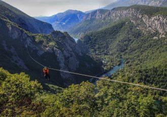 Zipline Omis Croatia